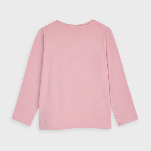 Mayoral Μπλούζα Μακρυμάνικη Βασική Κορίτσι, Ροζ