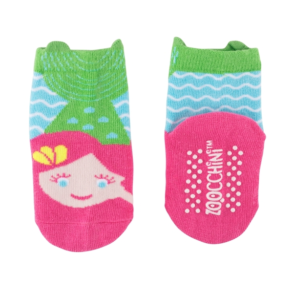 Zoocchini - Grip+Easy Παντελόνι για Μπουσούλιμα & Κάλτσες – Marietta the Mermaid