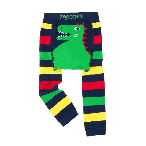 Zoocchini - Grip+Easy Παντελόνι για Μπουσούλιμα & Κάλτσες – Devin the Dinosaur