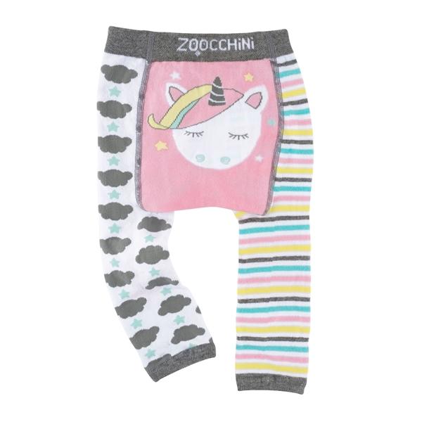 Zoocchini - Grip+Easy Παντελόνι για Μπουσούλιμα & Κάλτσες – Allie the Alicorn