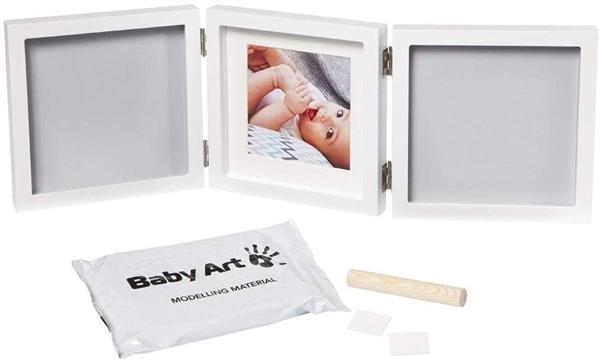 Baby Art Κορνίζα με Αποτύπωμα My Baby Style Double Grey