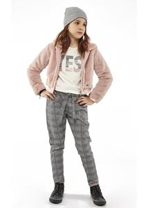 Εβίτα Fashion Σετ 3 Τμχ Παντελόνα, Τζάκετ και Μπλούζα Ρόζ