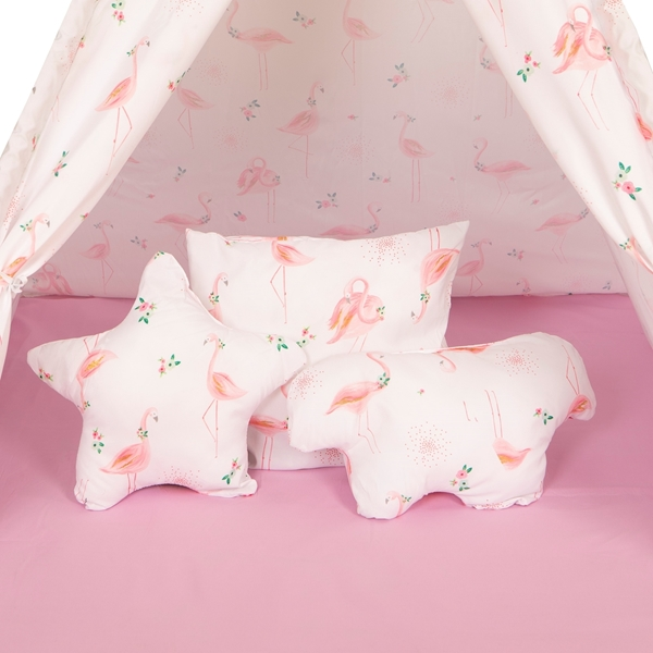 Baby Adventure Παιδική σκηνή Tepee Flamingo