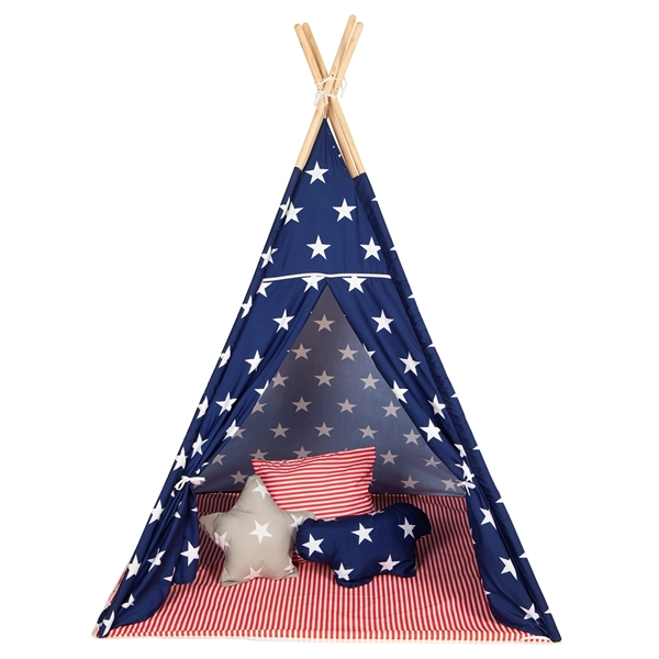 Baby Adventure Παιδική σκηνή Tepee Stars & Stripes