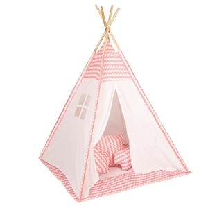 Baby Adventure Παιδική σκηνή Tepee Pink Wave