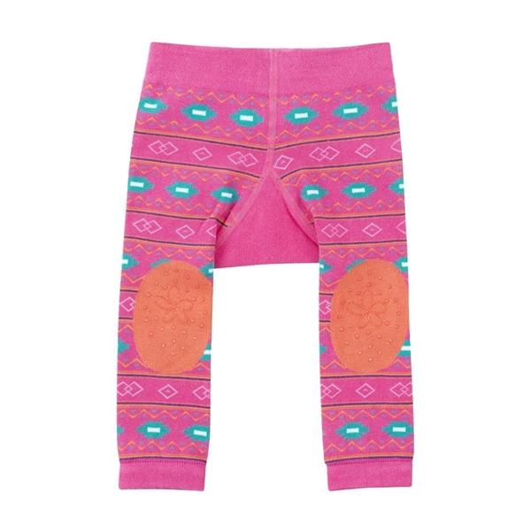 Zoocchini - Grip+Easy Παντελόνι για Μπουσούλιμα & Κάλτσες – Laney the Llama