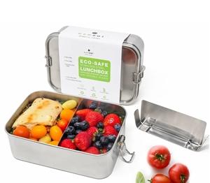 Ecozoi XLarge Lunch Box με Χώρισμα που Μετακινείται 2L.