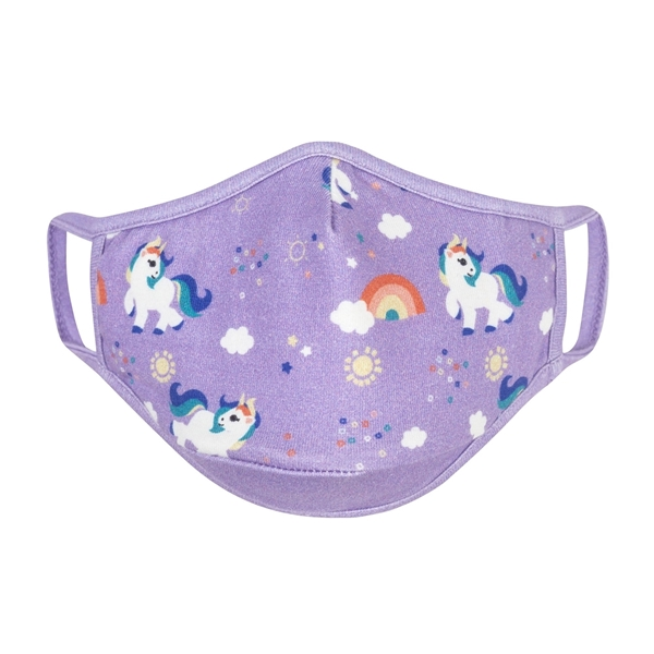 Zoocchini Σετ 3 Παιδικές Μάσκες – Unicorn Multi 3-6 ετών