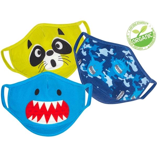 Zoocchini Σετ 3 Παιδικές Μάσκες – Shark Multi