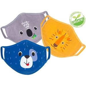 Zoocchini Σετ 3 Παιδικές Μάσκες – Dog Multi