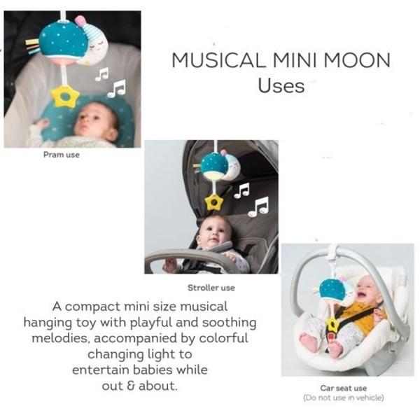 Taf Toys Κρεμαστό Μουσικό Παιχνίδι Musical Mini Moon
