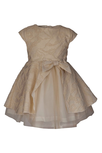 M&B Fashion Φόρεμα Χρυσό Παιδικό