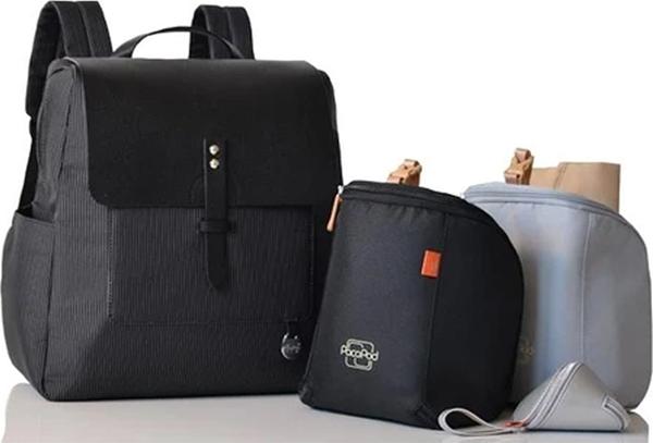 Pacapod Τσάντα Αλλαγής Hastings Carbon New