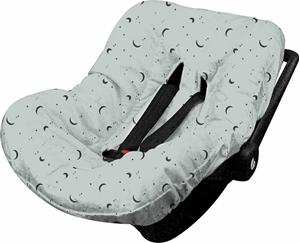 Minene Κάλυμμα Καθίσματος Αυτοκινήτου Light Grey
