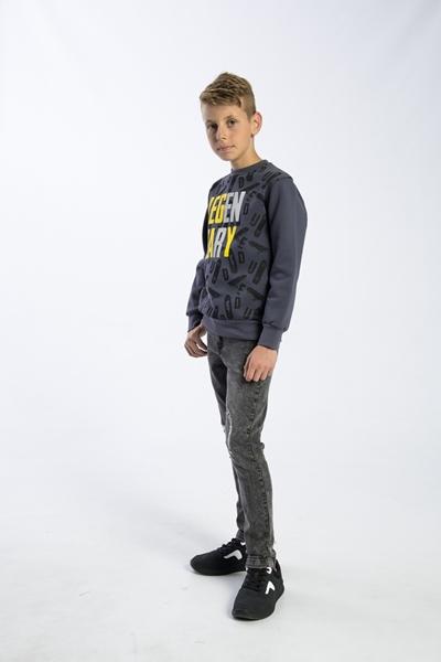 Funky Μπλούζα Φούτερ Αγόρι Ανθρακί