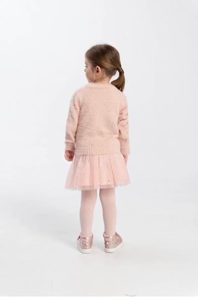 Funky Μπλούζα Πλεκτή Bebe Κορίτσι, Ροζ Πούδρα