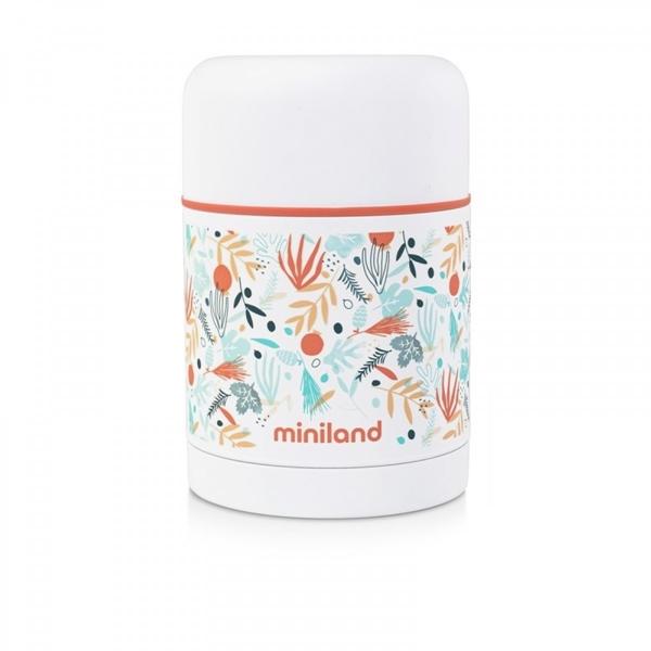 Miniland Θερμός Φαγητού Mediterranean Food Thermos 600ml