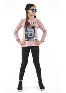 Εβίτα Fashion Σετ Κολάν Και Μπλούζα Lovely, Ροζ
