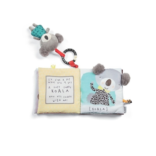 Mamas & Papas Παιχνίδι Δραστηριότητας Book & Toy Cheeky Faces