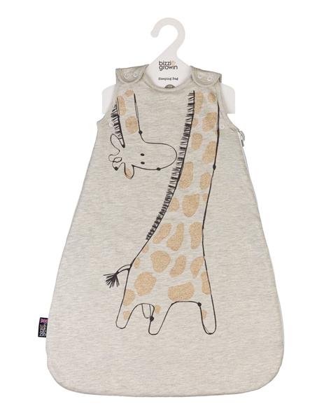 Bizzi Growin Υπνόσακος 2.5 tog Χειμωνιάτικος 6-18 μηνών Melvin Giraffe