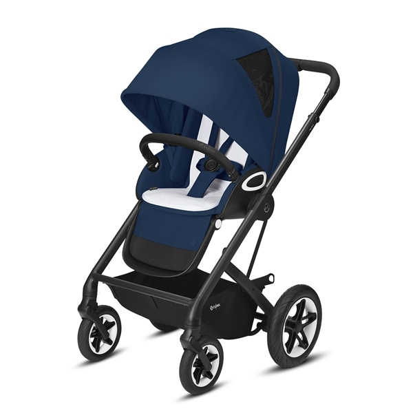 Cybex Βρεφικό Καρότσι Talos S Lux, River Blue (Silver Frame)