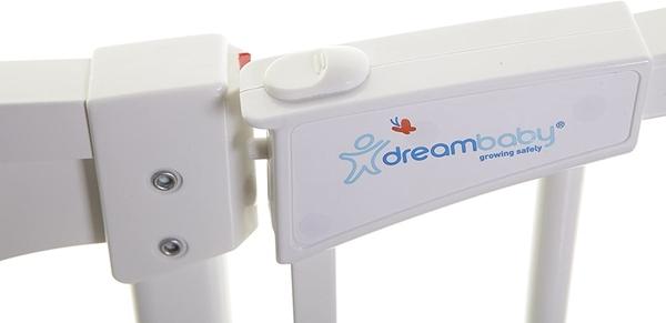 DreamBaby Μεταλλική Πόρτα Ασφαλείας Chelsea Auto Close White 71-80 εκ.