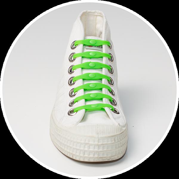 SHOEPS κορδόνια που δεν λύνονται - Πράσινα