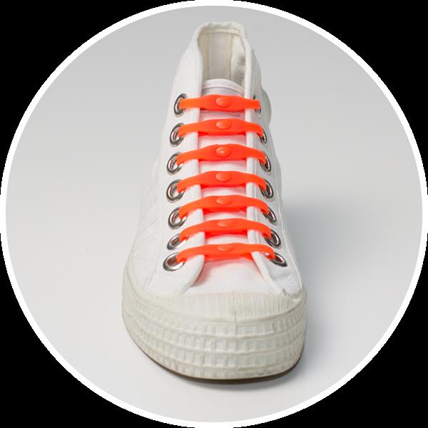 SHOEPS κορδόνια που δεν λύνονται - Πορτοκαλί