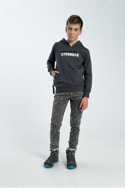Funky Μπλούζα Για Αγόρι Φούτερ, Ανθρακί