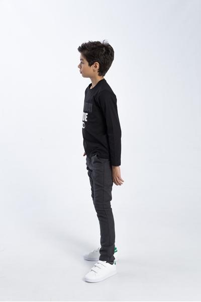 Funky Μπλούζα Για Αγόρι Mood On, Μαύρο