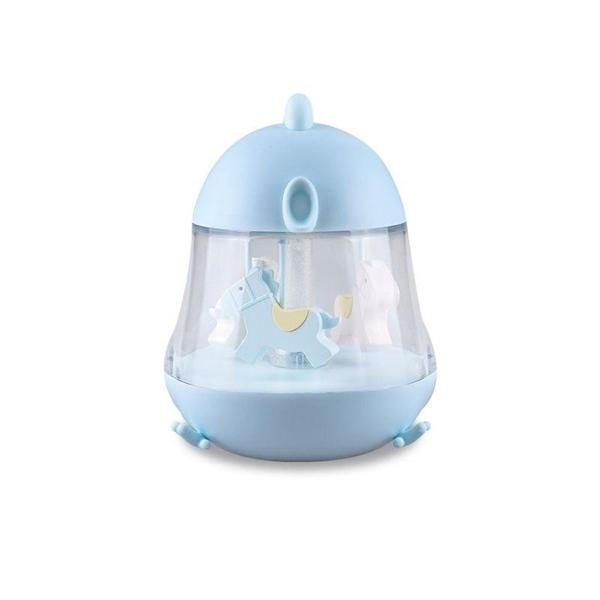 Rabbit & Friends Φωτάκι Νυκτός Carousel Blue
