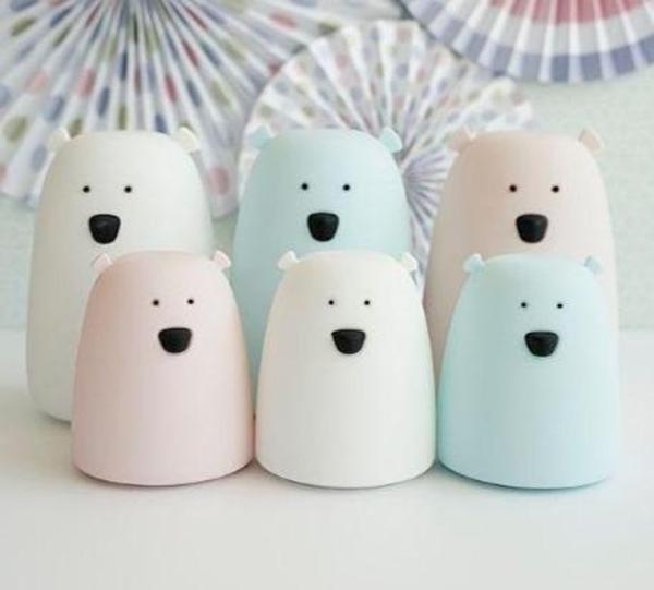 Rabbit & Friends Φωτάκι Mini Bear White