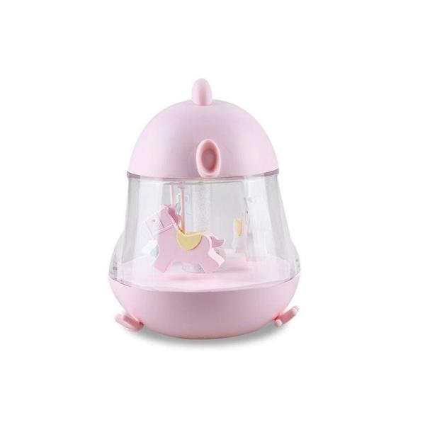 Rabbit & Friends Φωτάκι Νυκτός Carousel Pink