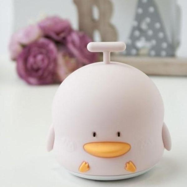 Rabbit & Friends Φωτάκι Νυκτός Duck Pink