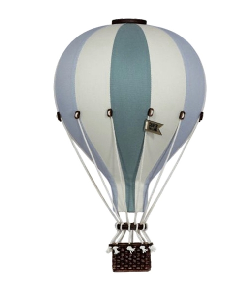 SuperBalloon Διακοσμητικό Αερόστατο Mint Blue large