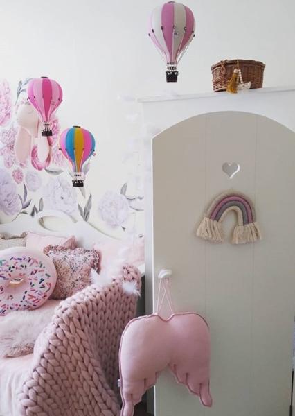 SuperBalloon Διακοσμητικό Αερόστατο Rainbow medium