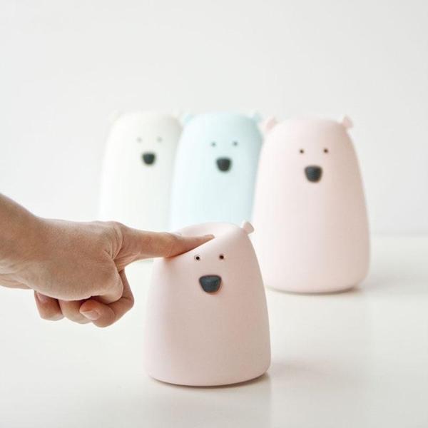 Rabbit & Friends Φωτάκι Νυκτός Bear Pink