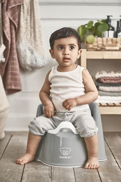 BabyBjorn Γιογιό Εκμάθησης - Powder Grey/White