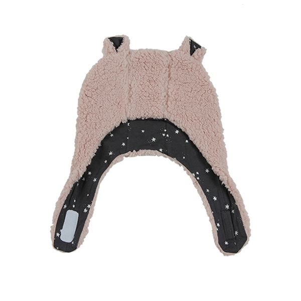 Minene Σκουφάκι Luxurious Bear Dark Pink 12-18 μηνών