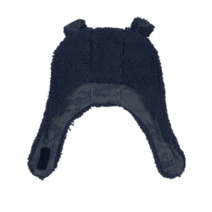 Minene Σκουφάκι Luxurious Bear Blue 6-12 μηνών