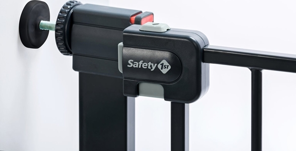 Safety 1st Πόρτα Ασφαλείας Easy Close Metal Black