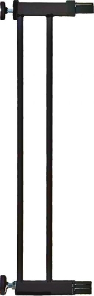 Safety 1st Προέκταση 14cm για Πόρτα Ασφαλείας Easy Close Metal Black