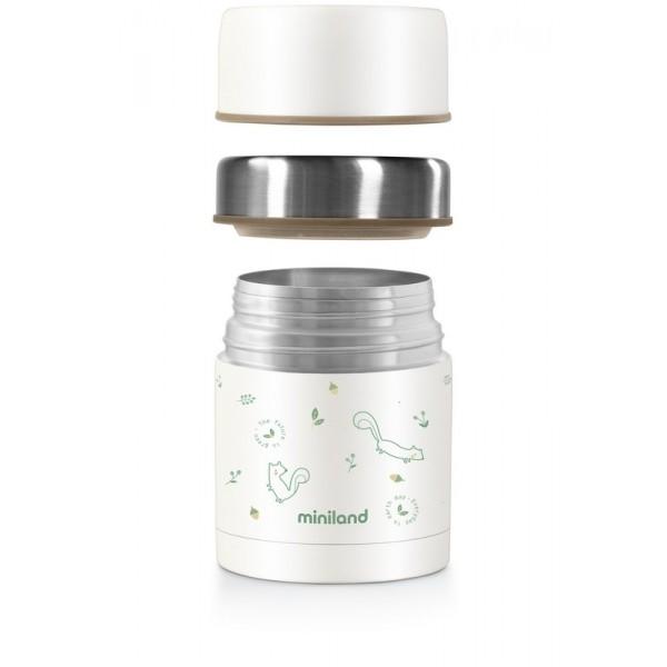 Miniland Ανοξείδωτος Θερμός Φαγητού Natur Food Chip 600ml