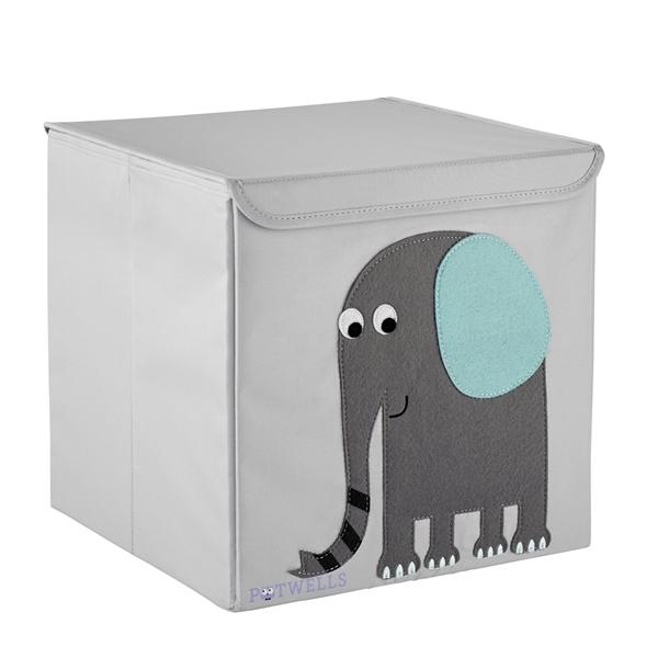 Potwells – Κουτί Αποθήκευσης Ελέφαντας 33x32x32cm