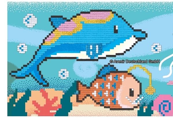 Avenir - Pixelation Art, Under The Sea