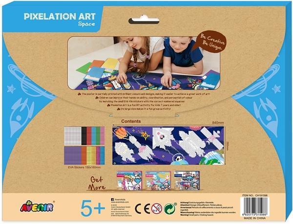 Avenir - Pixelation Art, Space