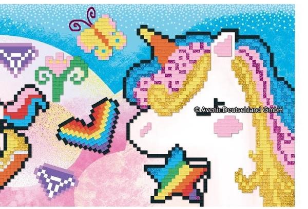 Avenir - Pixelation Art, Unicorn