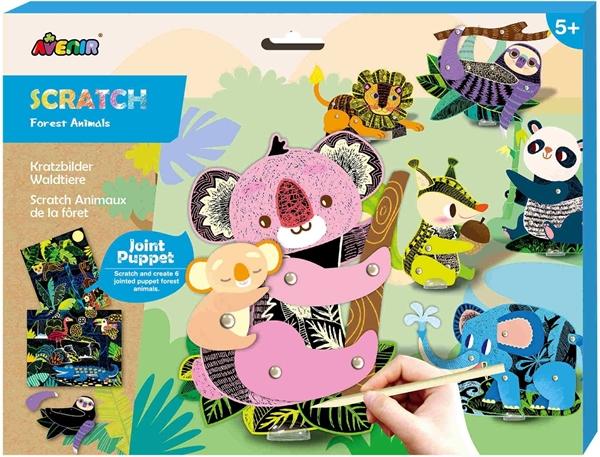 Avenir - Scratch Puppets, Animals