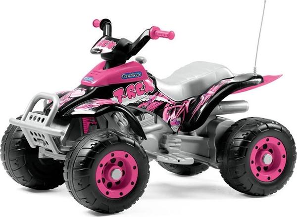 Peg Perego Hλεκτροκίνητο Pink T-Rex 12V