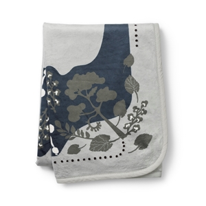 Elodie Details - Κουβέρτα Pearl Velvet Rebel Poodle Mineral Green